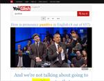 発音や読み方がわからない英単語を著名人がYouTubeで教えてくれる「YouGlish」