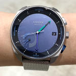 新タイプのシチズン製スマートウォッチ「Eco-Drive Riiiver」時計でIoT機器を操作