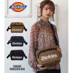 大きなロゴがインパクト大!Dickiesのショルダーバッグ