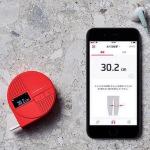 健康管理用ツールとしても最適化! ±0.5mm以下の精度を保障するデジタルメジャー
