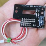 赤白ファミコンに電源ランプを追加できるキット