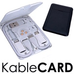 12の機能をカードサイズに詰め込んだガジェット用マルチツール「KableCARD」