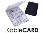 カバンに1枚の必需品! デジタルガジェット用カード型ツール「KableCARD」