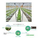 LINE WORKS、農業ICTシステムと連携