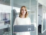 ロジクールがワイヤレスキーボード「MX KEYS」を発表、快適タイピング感重視のプロモデル