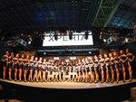 Xperiaブースの総勢28名の美女全員をXperia 1で撮影