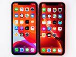 アップル「iPhone 11」と「iPhone XR」を並べて見た