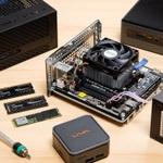 小型パソコンを自作 最短10分で組み立てられるPC