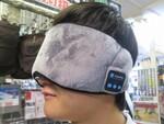 音楽を聴きながら寝落ちできるスピーカー内蔵のBluetoothアイマスク