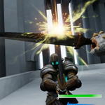 剣戟が楽しめるVRアクションゲーム「ソード・オブ・ガルガンチュア」