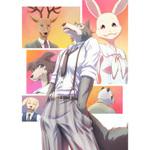 【2019秋アニメ】話題作がアニメ化、種族が異なる動物たちの青春群像劇『BEASTARS』