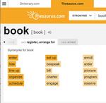 その英単語は正しい使い方ですか? シーン別に使える類似検索サービス「Thesaurus.com」