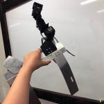 ROSでデプスカメラを動かし、物が近づいてくるのを認識させてみた