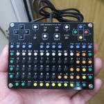 ゲームパッドが合体した超コンパクトキーボードの自作キット