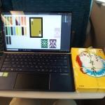 カフェや崎陽軒のシウマイ弁当とZenBook 14は共存できるのか