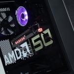TSUKUMOのAMD50周年記念PCは、ロゴ入りガラスパネル&グッズも付いてお得!