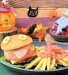 くら寿司「フィッシュモンスター」ハロウィン限定のバーガーメニュー