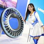 空飛ぶクルマのタイヤや苔で発電するタイヤを発表したグッドイヤー