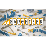 VR空間内にピタゴラスイッチ風の装置を組み上げる「Gadgeteer」