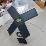 傘に載せて発電できる、ありそうでなかったソーラーパネル