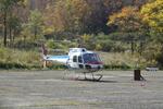 KDDI「ヘリコプター基地局」で遭難者を捜索