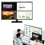 LG、画面4分割表示も可能なHDR対応42.5型4Kディスプレー「43UN700-B」