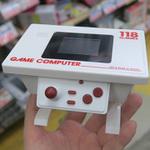 ミニチュアのテーブル筐体みたいなゲーム機! 118ゲーム内蔵で1500円