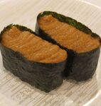 かっぱ寿司の「えびみそ」軍艦がおいしい