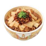 【本日発売】すき家「食べラー・メンマ牛丼」