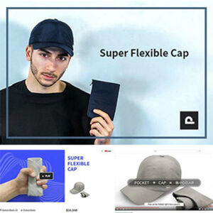 帽子職人が集結して作った新概念フレキシブルキャップ