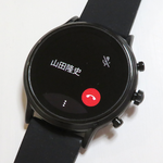 フォッシル スピーカー搭載スマートウォッチはiPhoneにかかってきた電話を着信・通話できる
