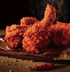 KFC「レッドホットチキン」「チキンクリームポットパイ」