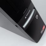 Ryzen搭載で6万円台とお手頃デスクトップPC、幅約10cmで設置しやすい