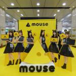 乃木坂46「デジタル名刺交換」復活、最新RyzenノートPCも展示のマウスキャラバンに行ってきた
