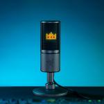 Razer、LED液晶に配信状況に合わせてアイコンを表示可能なゲーミングマイク発表