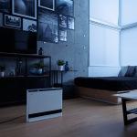 乾燥した部屋の加湿もできるパネルセラミックヒーター