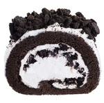 マックカフェ「オレオロールケーキ」