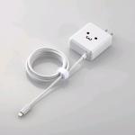iPhoneやiPadの急速充電に便利なPD 3.0対応Lightningケーブル一体型USB AC充電器、エレコムから