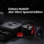 スター・ウォーズ「ダークサイド」モデルのGalaxy Note 10+が登場