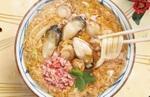 【本日発売】丸亀製麺、「海鮮 玉子あんかけ」