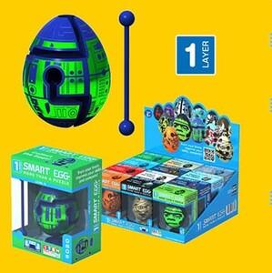 知育玩具としても最適! 新感覚パズル「スマートエッグ~たまごなやつ~」