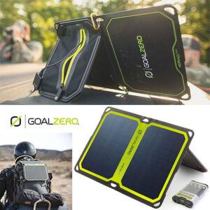 スマホやゲーム機を充電できる!ソーラーパネルとポータブル充電器のセットが安い