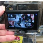 運転を邪魔しない小型タッチ液晶付き360度カメラ+リアカメラのドラレコ