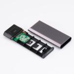 ロジテック、NVMe M.2 SSDを外付けドライブにできるケースを発売