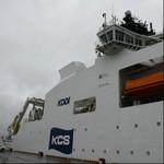 KDDI、沖縄で海底ケーブルを敷く新造船内部を初公開