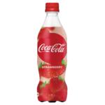 「コカ・コーラ ストロベリー」世界初いちご味