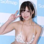 むちむちGカップ・月野夏海が、リアル感あふれる8th DVD!