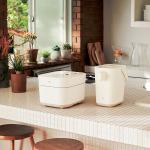 象印、シンプルデザインのキッチン家電「STAN.」シリーズにホワイトカラーを追加