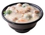 肉めし専門店の「クリームシチュー肉飯」
