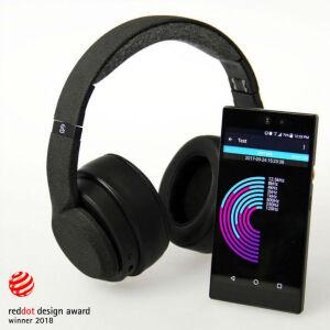 あなたの聴覚を測定して、最適な音質で音楽を楽しめるヘッドホン